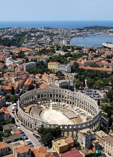 Information about places to visit in Pula and events in Pula. Get best things to do in and Pula tourist attractions. Places To Travel, Places To See, Travel Destinations, Montenegro, Places Around The World, Around The Worlds, Les Balkans, Ville France, Voyage Europe