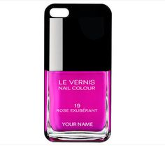 PERSONALISED iphone 5 case cover nail polish!!!  Finally, a reason for me to want an iPhone!
