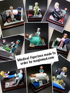 Psychologist's Figurine, Custom Made Gift for a Therapist / Counsellor, Psychiatrist Graduation Gift - Pflanzen Christmas Gifts For Mom, Personalized Christmas Gifts, Fertility Doctor, Custom Made Gift, Gifts For Dentist, Doctor Gifts, You Are Awesome, Graduation Gifts, Craft Gifts