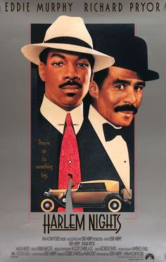"Film: Harlem Nights (1989) Year poster printed: 1989 Country: USA Exact Size: 26 3/4"" x 39 3/4"" Artist: Steve Chorney This is a vintage, one-sheet movie poster from 1989 for Harlem Nights starring Edd"