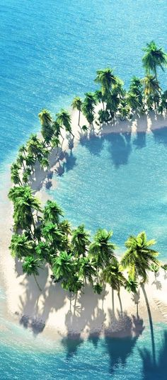 An island in the shape of a ~C~ it's calling me...so my island!!!