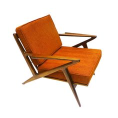 beautiful angles on this Palm Springs Lounge Chair | $700 (in Electric Orange) - from dotandbo.com #mcm #spon