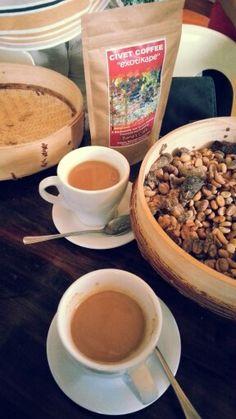 Civet coffee from Sagada