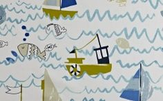 Children deserve their own special fabric, so Prestigious has created these new friends and fantasy worlds to feed growing imaginations. Wave Curtains, Fabric Blinds, Curtain Fabric, Prestigious Textiles, Coastal Farmhouse, Fabric Wallpaper, Fantasy World, Kids Furniture, Pattern Art