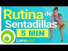 Rutina de Sentadilla en 5 Minutos para Piernas y Glúteos - YouTube
