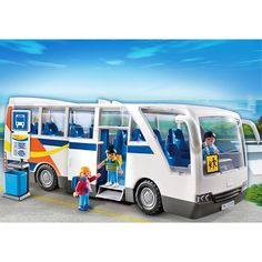 Playmobil City Life Szkolny autobus wycieczkowy, 5106, klocki