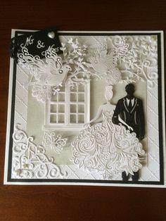 My make using tattered lace Bella & George dies