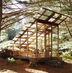 Small Rustic Sunrooms | Materialicious. If you like cool houses, you'll love this site.