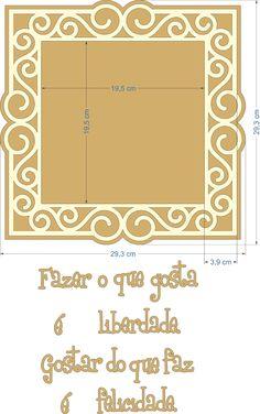 Placa mdf com dimensões
