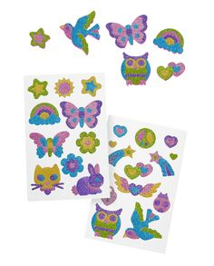 Melissa & Doug Mess-Free Glitter Activity Kit Friendship Stickers, 5 Glitter Sheets, Great Gift for Girls and Boys - Best for 9 Year Olds and Up) Anime Makeup, Melissa & Doug, Hobby Shop, Free Activities, Crafts For Girls, Party Supplies, Friendship, Great Gifts, Glitter