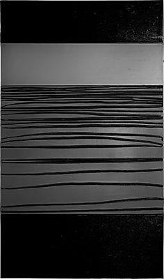 Pierre Soulages | Peinture 09 X 181 cm, 12 Décembre 2013