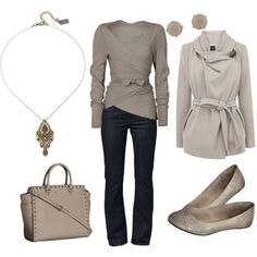Taupe Outfit