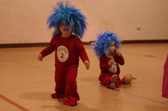 Thing 1 and Thing 2-Happy Halloween my little twins!