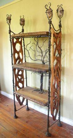 Tree Bookshelf Shelves Tree Shelf And Room - Fallen branch is repurposed to create beautifully unconventional shelf