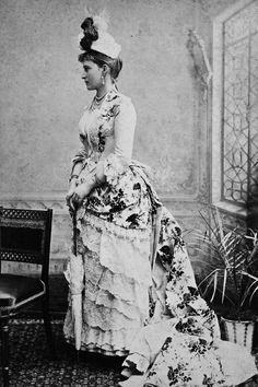 """Grand Duchess Elisabeth Feodorovna Romanova of Russia in 1887.    """"AL"""""""
