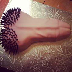 Bachelorette cake by emilyhayescakes