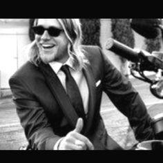 Jax Teller - he's a Heath Ledger meets Kurt Cobain kinda guy :)