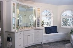 A Vanity in the Bathroom | Apartment Therapy
