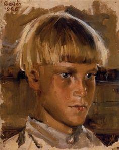 Orphan Boy, 1886 // by Akselo Gallen-Kallela Ateneum Art Museum, Helsinki, Finland