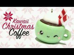 Christmas kawaii coffee