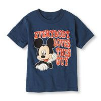 Mickey Mouse love graphic tee