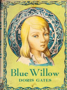 my vintage book collection (in blog form).: In the shop..... Blue Willow - illustrated by Paul Lantz