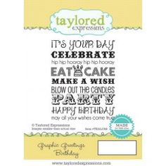 Graphic Greetings Birthday