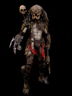 Predator Custom Tri-clops Spider hunter Neca action figure by Sabretooth. www.howtohobbyist.com