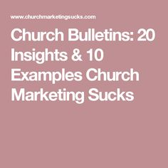 52 best church bulletin inspiration images on pinterest in 2018