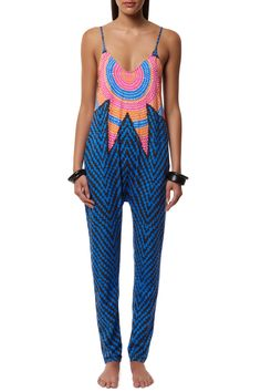 Low Back Jumpsuit #MaraHoffman