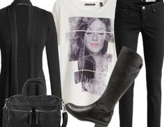 Black - Casual Outfits - stylefruits.nl