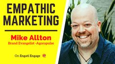 What emotion should your marketing message revolve around during these times? Learn about using empathy to connect with your audience in this interview with Mike Allton. Event Marketing, Influencer Marketing, Content Marketing, Online Marketing, Social Media Marketing, Marketing Techniques, Keynote Speakers, Customer Experience, Body Language