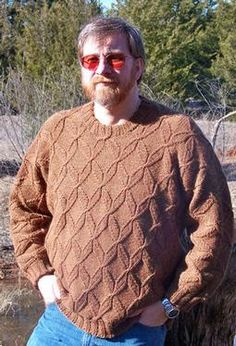 Not So Frosty Men's Pullover by Jodie Gordon Lucas