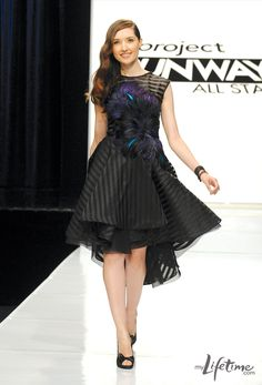 I love this dress from Project Runway All-Stars. Anthony Williams designed it for the Miss Piggy challenge.