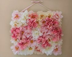 CoraCraft 12 by 14 Floral Panels Set of 2 by CoraCraft on Etsy