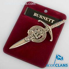 Burnett Clan Crest K