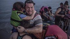 La familia siria que lloró al desembarcar en Grecia llega a Alemania