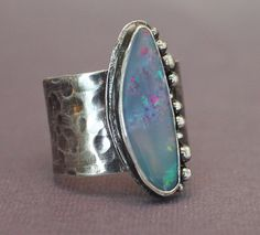 Australian boulder opal from the Coober Pedy mine