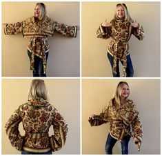 Not the fabric, but the sewing pattern! The (DIY) Brocade Blanket Coat by Sheri Pavlovic