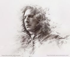 Severus Snape Drawings by Michelle Winer