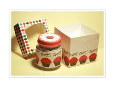 Cupcake Box - Paper Craft Planet