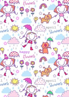 32 APRIL SHOWERS by HELEN PICKUP, via Flickr
