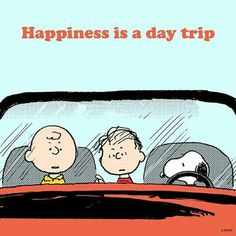 Happiness is a day trip