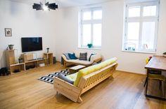 livingroom, scandi, white and wood