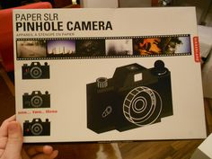 Kikkerland Paper SLR Pinhole Camera