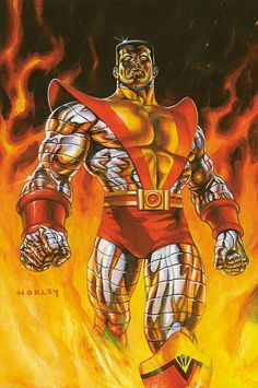 #Colossus #Fan #Art. (Colossus) By: Alex Horley. (THE * 5 * STÅR * ÅWARD * OF: * AW YEAH, IT'S MAJOR ÅWESOMENESS!!!™)[THANK Ü 4 PINNING<·><]<©>ÅÅÅ+(OB4E)