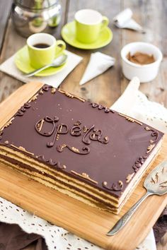 Paleo Opera Cake   thehealthyfoodie.com
