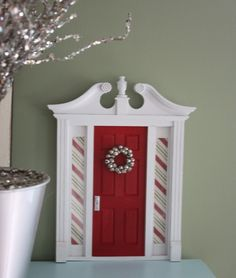 Santa's Elf Door by piratesandpixies on Etsy