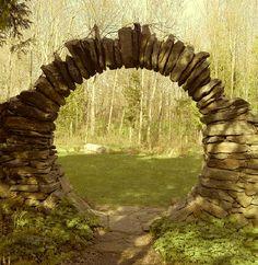 Arco de piedra seca