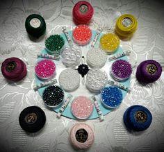 Tante Perline in Tanti Colori con Tanti Accessori per lavorarle.
